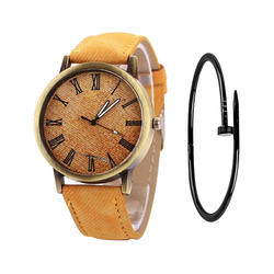 Часы Для женщин Элитный бренд кожаный ремешок Высокое качество Золотой браслет кварцевые часы для женское платье Наручные часы женские