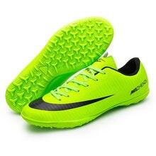 5f4e27677 Profissionais Homens Turf Indoor futsal Futebol Botas Chuteiras Superfly  Chuteiras Crianças Originais Sapatilhas chaussure de pé