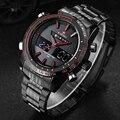 NAVIFORCE relogio masculino relojes Para Hombre de primeras Marcas de Lujo de Cuarzo Ocasional Hombres Reloj Militar digital de reloj Resistente Al Agua Reloj de Pulsera
