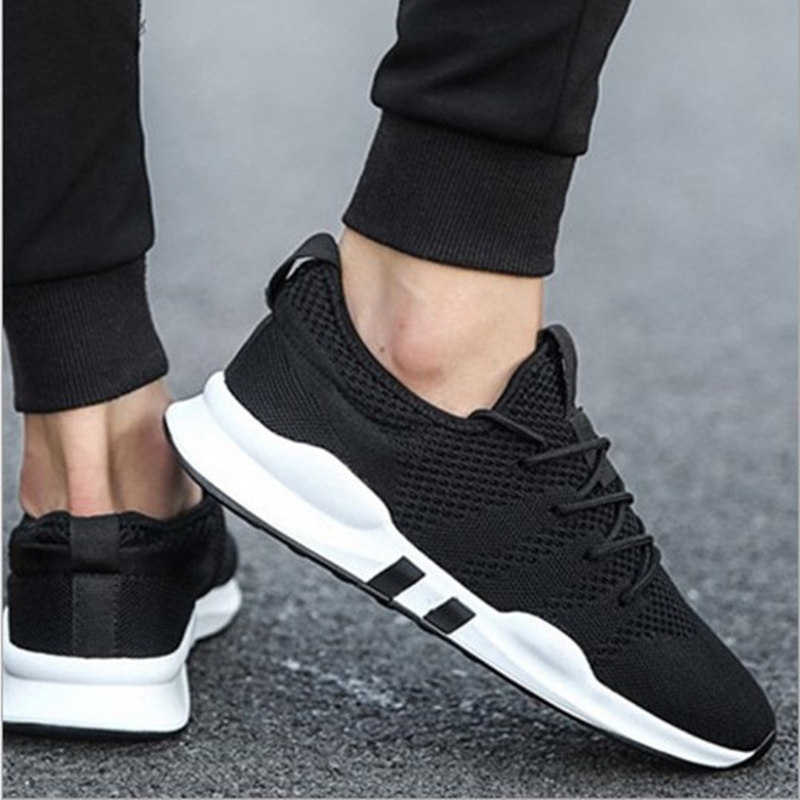 Summer light breathable wild casual men's shoes increased mesh large - Men's Shoes - Photo 4