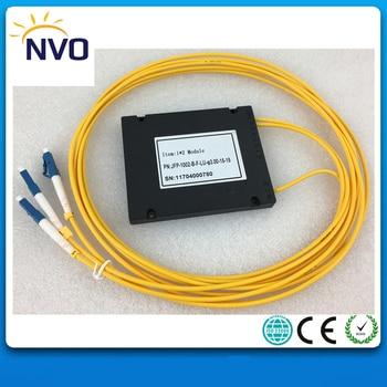 Gepon Epon 1x2 Caja ABS 1*2 FC/UPC Fibra óptica PLC divisor