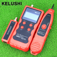 Cable Tracker Phone Line Tester BNC Network Finder USB RJ45 Wire Tracer NF 838