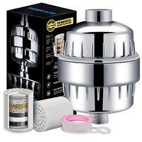 Dusche Wasserfilter Filter Multi schicht Filtration Aktivkohle Patrone Wasser Filter Tap Vorfilter Bad|Wasserfilter|   -