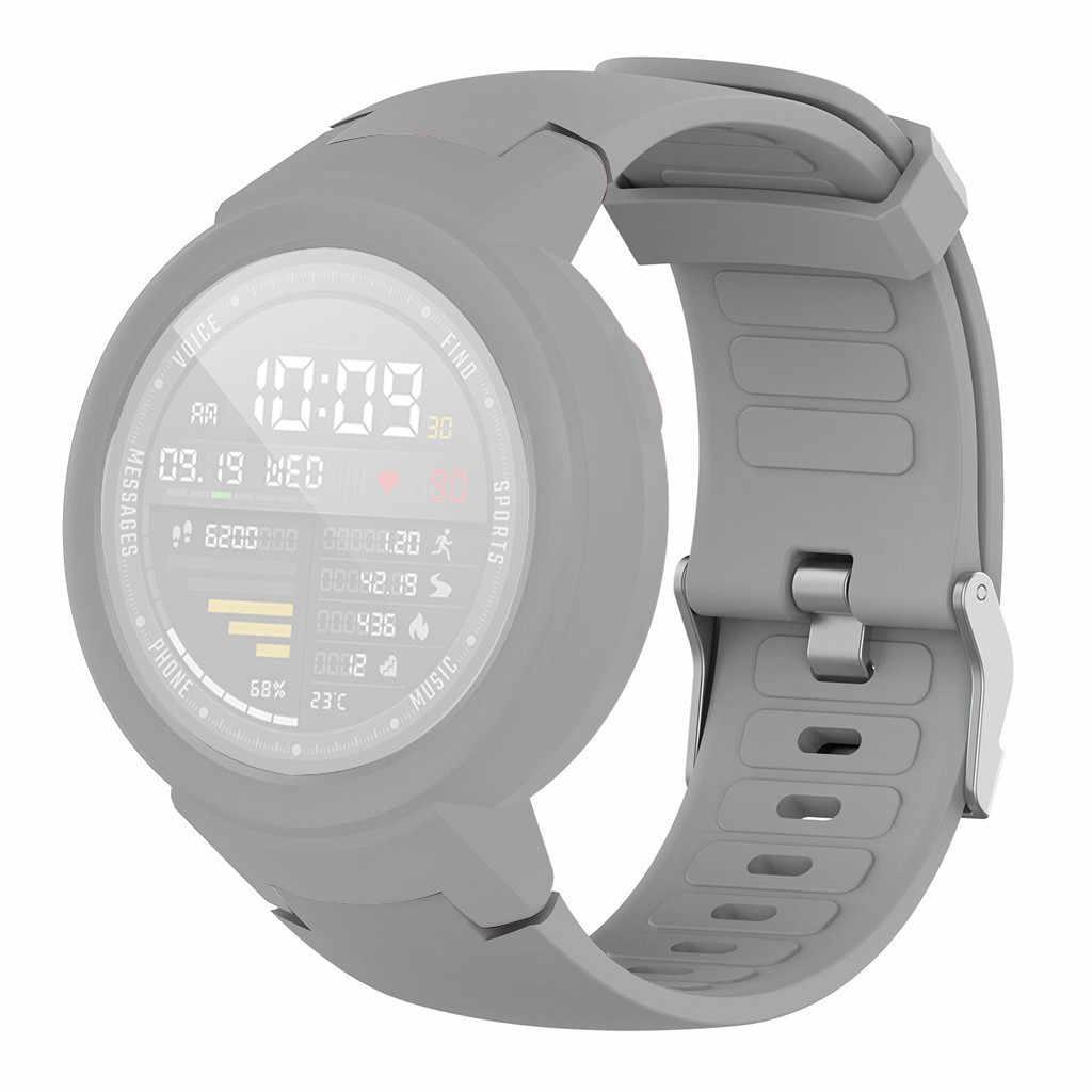 Correa de reloj de silicona + protector de TPU para el reloj Huami Amazfit Verge Youth Watch Dropshipping