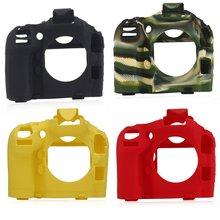 Camera case non-slip wear-resistant comfortable portable durable For Nikon D800/D800E Silicone Case