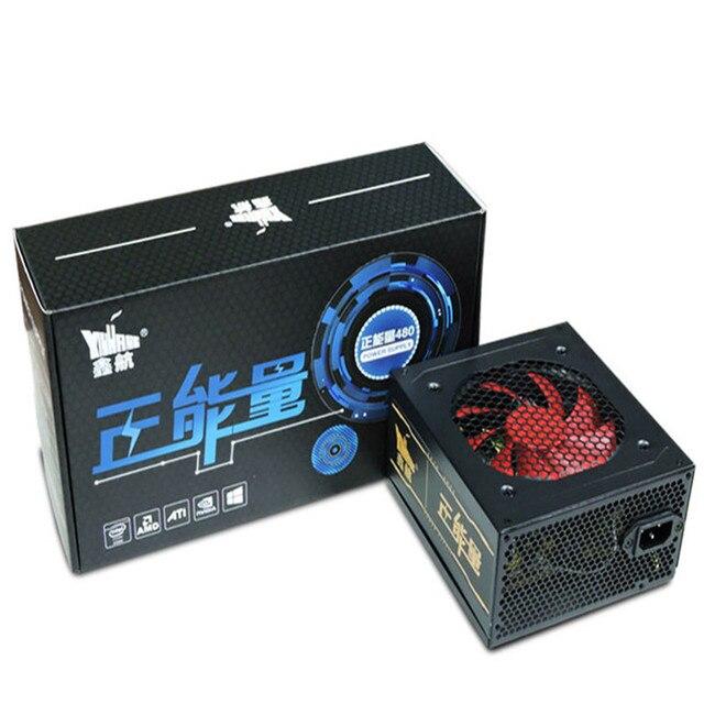 XINHANG 480W Power Supply 480W ATX Power Supplies For Desktop PSU PC Gamer Power 12V ATX Power Case PC Gaming office use