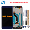 For Huawei Honor 8 Lite Lcd Display Touch Scree With Frame 100 New Digitizer Panel Screen