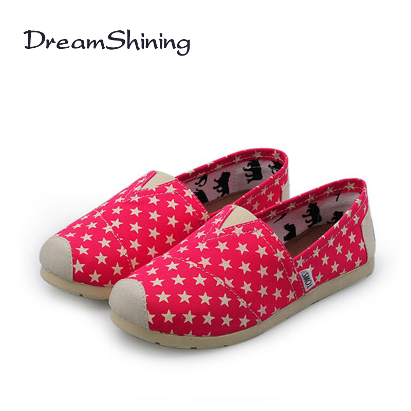 DreamShining New Fashion Women Colorful Flat Shoes Women's Flats Womens High Quality Lazy Shoes Spring Summer Shoes Size EU35-40 2016 spring and summer free shipping red new fashion design shoes african women print rt 3
