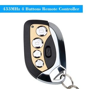 Image 4 - Kebidu אלחוטי מרחוק שליטה מרחוק בקר האוטומטי מעתק 433MHz מתכוונן שער מוסך דלת Keychain עבור רכב