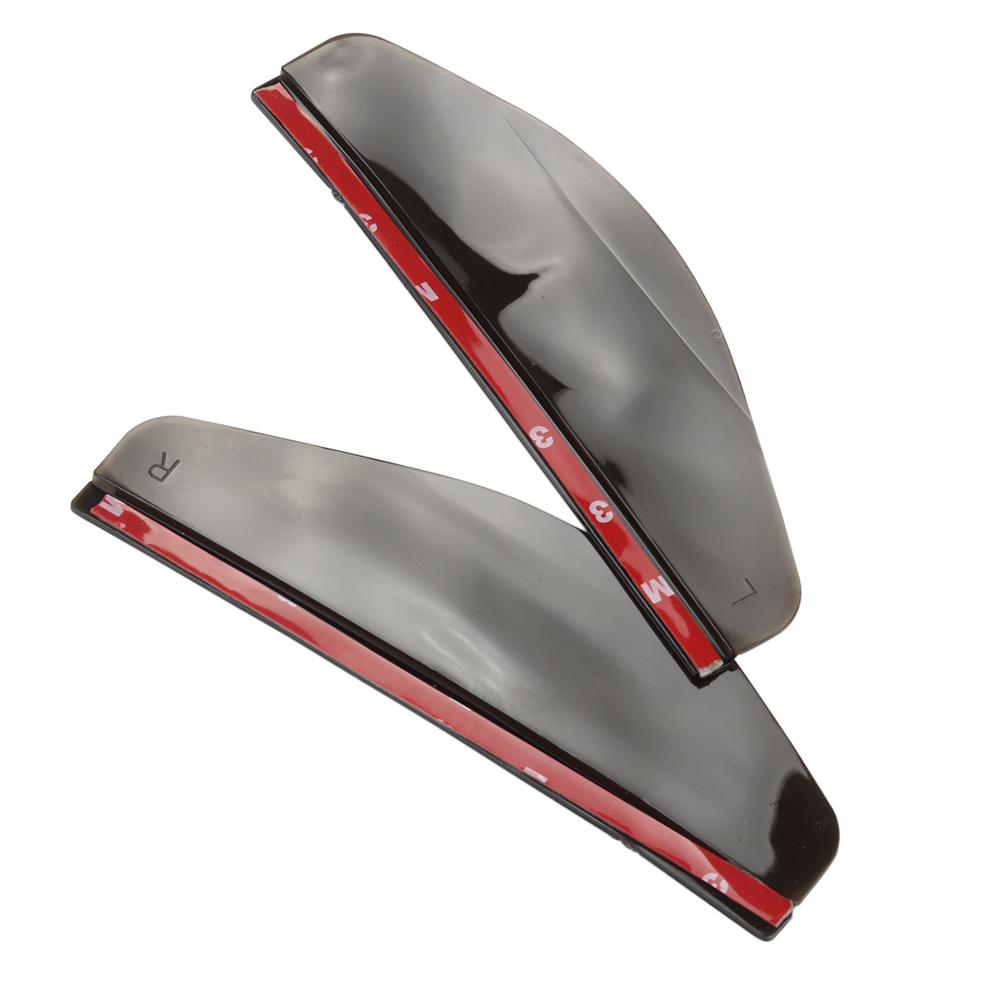 Universal Flexible PVC Car Rear View Side Mirror Rain Board Sun Visor Shade Shield For Car