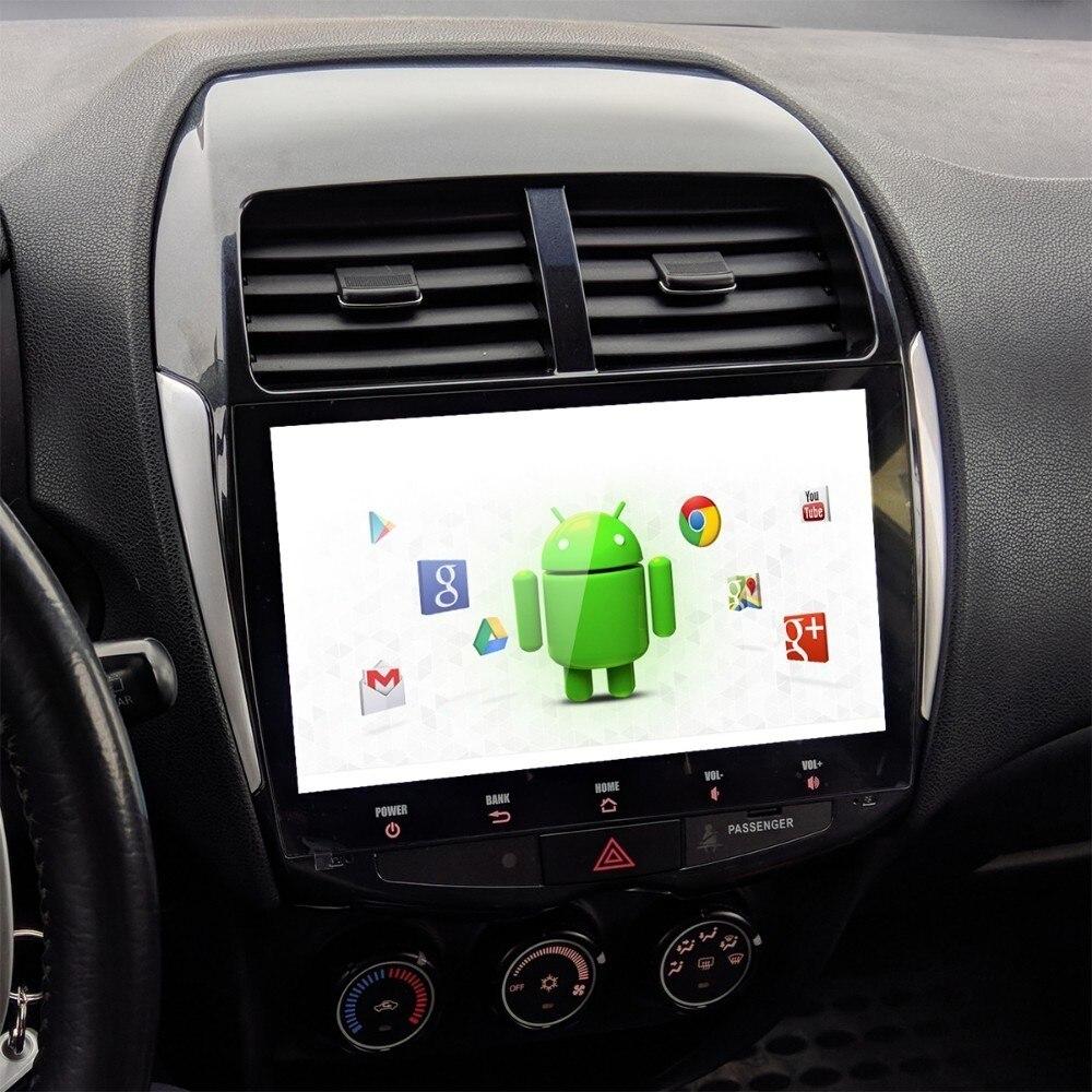 Pour Mitsubishi ASX Peugeot 4008 Citroen C4 Air Cross voiture 1 din Android 9.0 stéréo Multi écran tactile radio MP3 USB multimédia