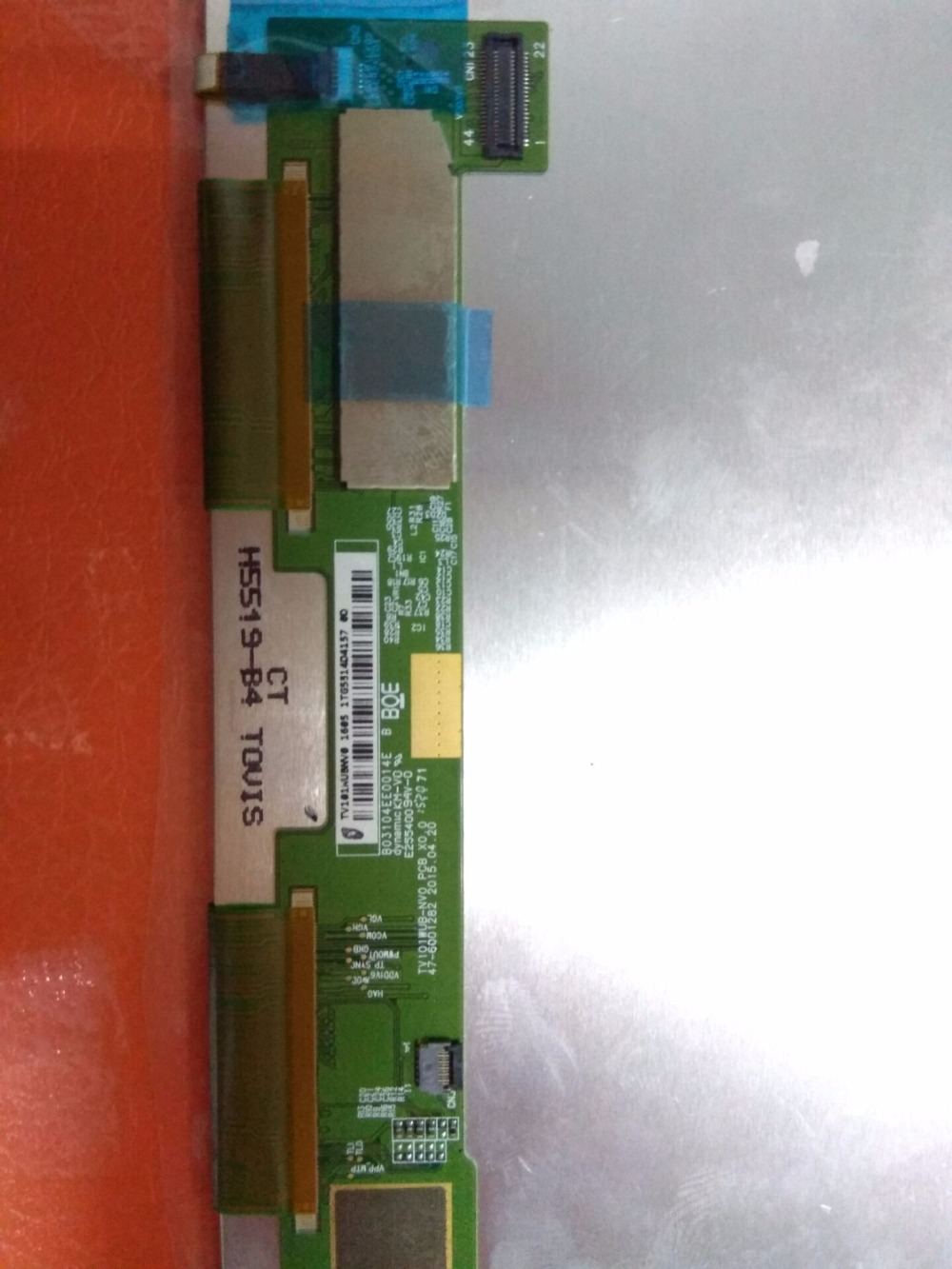 625 A+ LCD Display Matrix TV101WUB-NV0 PCB X0.0 LCD Screen Panel Replacement ремень calvin klein z8348634p 32mm ck