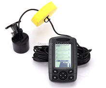 16 Levels Grayscale Portable Sonar Fish Finder Wired Fish Finder Spain Russia Manual Echo Fish Sounder