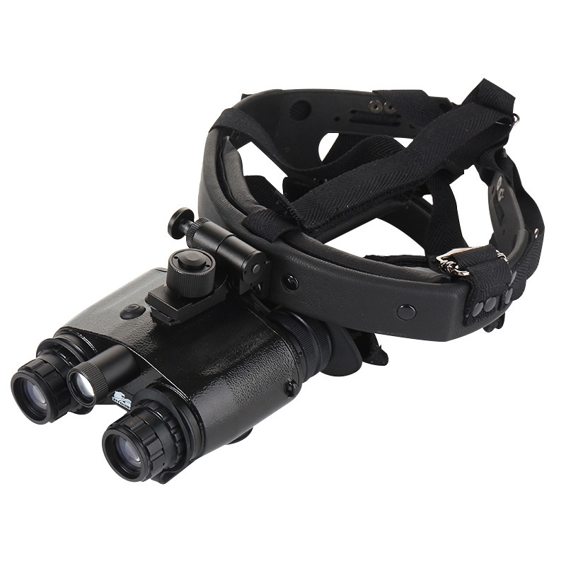 New 1x24 High Definition Helmeted Night Vision Binocular Night Vision for Hunting Patrol Camping Travel night vision scope in Night Visions from Sports Entertainment