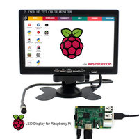 7inch HDMI LCD Display Raspberry Pi IPS 800x600 7 0 LCD With HDMI Screen Display Monitor