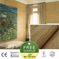2019 MY WIND Grasscloth Wallpaper sea grass 3D wallpapers designs curtains free sample mural embossed sticker soundproof