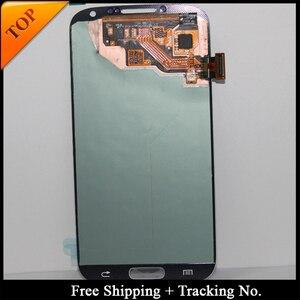 Image 1 - جهاز تتبع الشحن المجاني رقم 100% مختبرة LCD لسامسونج S4 I9500 LCD i9505 شاشة عرض LCD تعمل باللمس