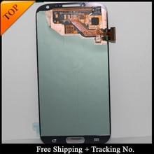 Envío Gratis, número de seguimiento, 100% LCD probado para Samsung S4 I9500 LCD i9505, pantalla LCD, montaje del digitalizador táctil