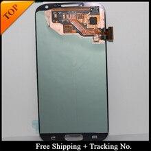Livraison Gratuite De Suivi No 100% testé LCD Pour Samsung S4 I9500 LCD i9505 Affichage LCD Écran Tactile Numériseur Assemblée