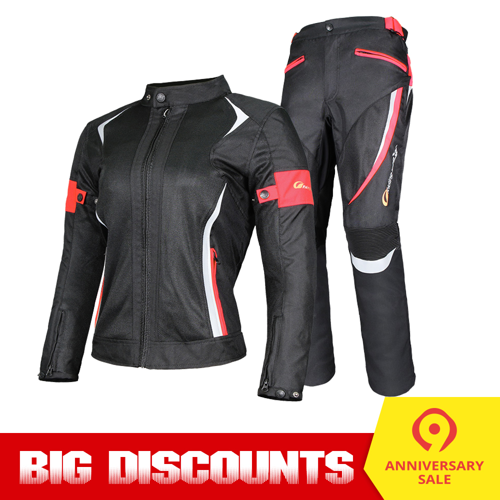 Riding Tribe Motorcycle Jacket Motorcycle Pants Windproof Waterproof Women s Motorcycle Protective Gear Suit Biker Clothing