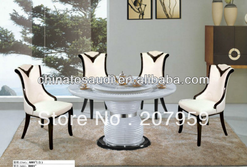 Modern Design Marble Top Dining Table In Dining Tables From