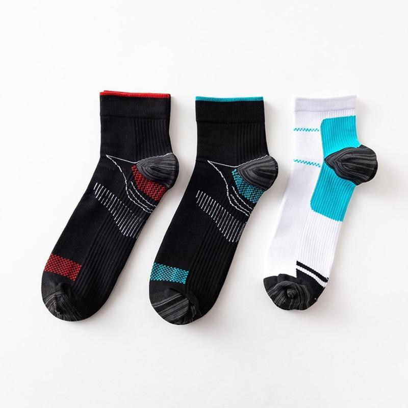 Men Women Compression Running Socks Professional Sport Riding Socks Basketball Badminton Hiking Racing Cycling Socks quiksilver riding socks youth brillant 1108221