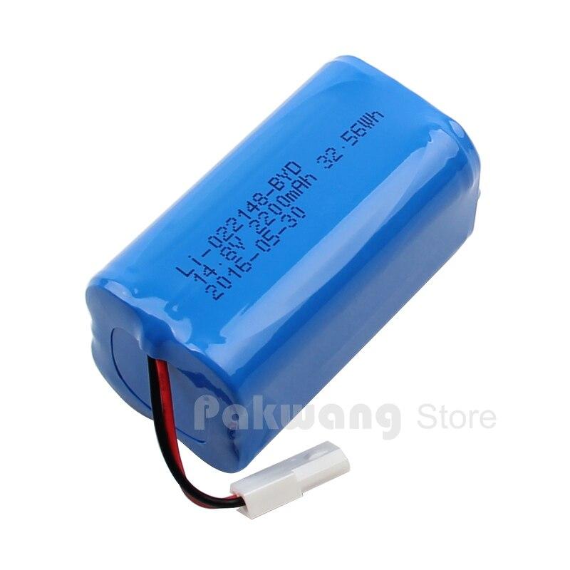 цена на Original BYD F1 Robot vacuum cleaner Parts 2200 MAH Lithium Ion Battery 1 pc