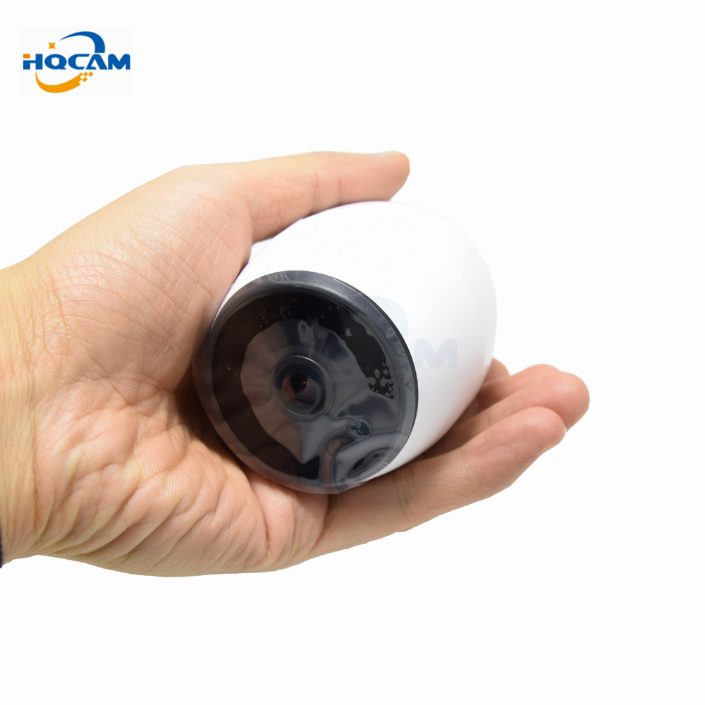 HQCAM HD 1080P 180Degree Panoramic Wide Angle MINI Camera Smart IPC Wireless Fisheye IP Camera P2P Security Wifi Camera Barrel hqcam full hd 1080p 180 degree mini ip camera monitor ip camera mini p2p plug play wide angle camera for 1 78mm fisheye lens