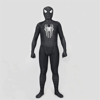 High Quality Spider Man Venom Black Evil SpiderMan Adult Tights Catsuit Cosplay Costumes Halloween Party Bodysuit