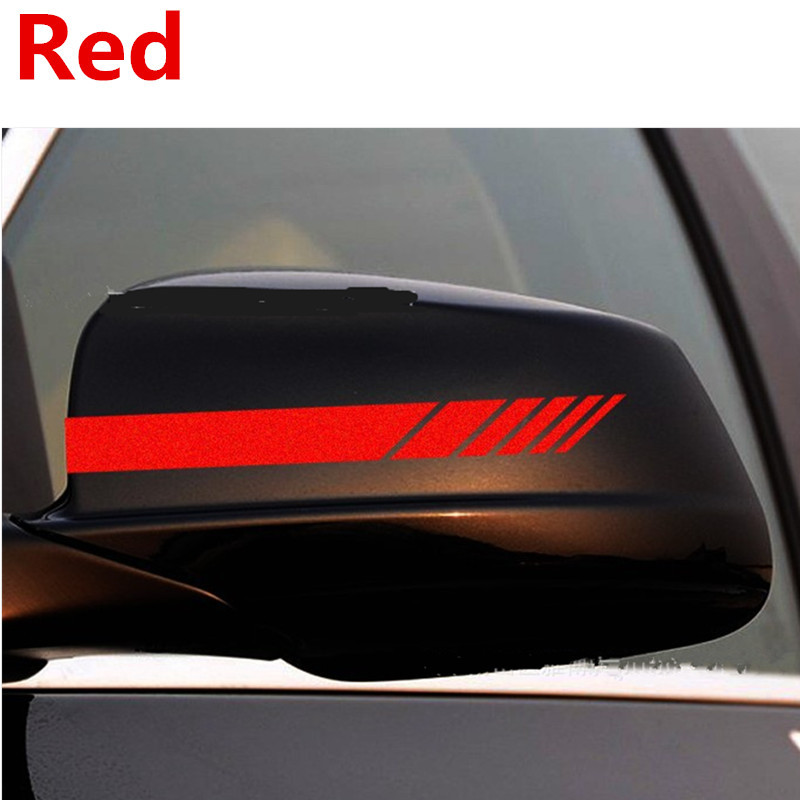RACING Side Mirror DECALS stickers Chevy Ford Dodge Toyota Honda Racing Car