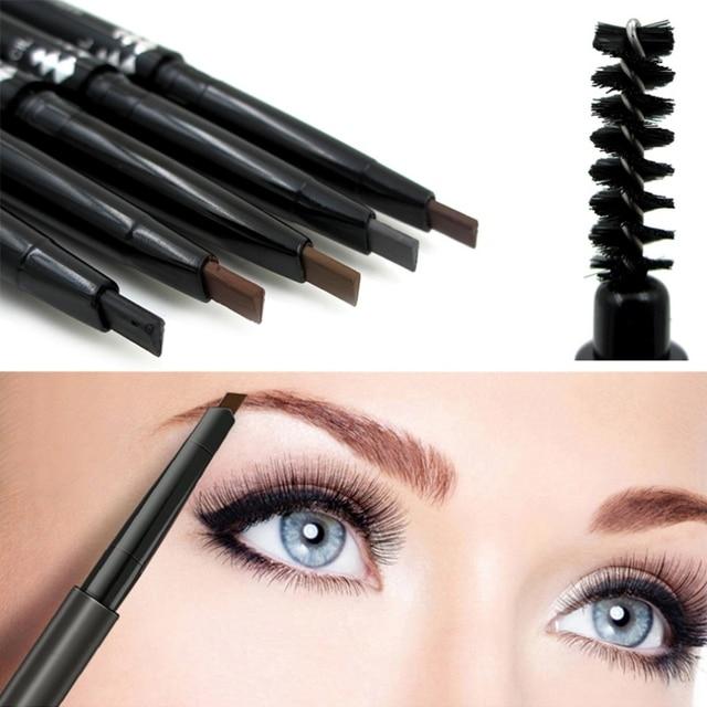 348556deecc New Hot Waterproof 4 Colors Eye Brow Eyeliner Eyebrow Pen Pencil With Brush  Makeup Cosmetic Tool. Price:
