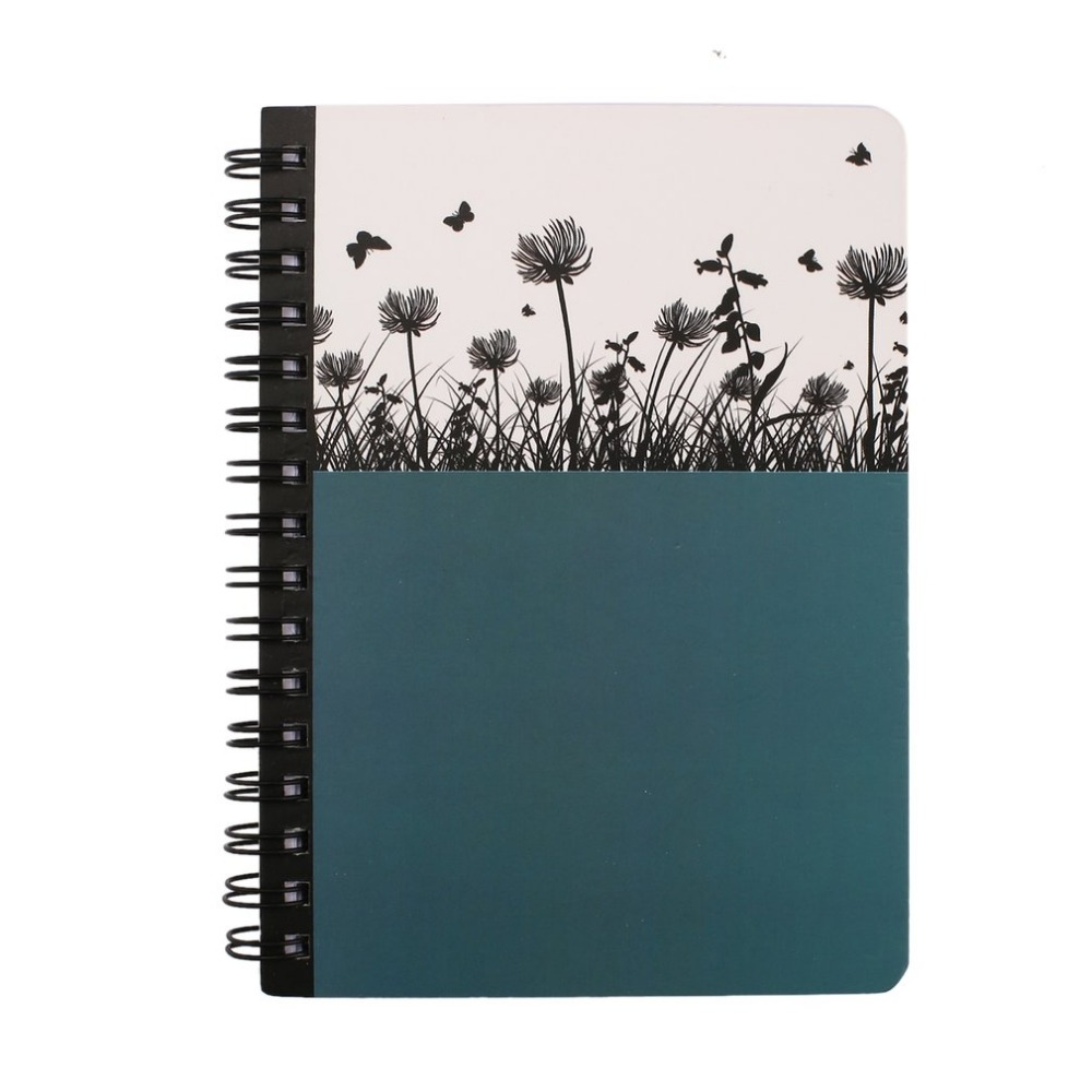 Premium Mini Hard Cover Notebook Writing Journal Portable Coil Notebook Home Daily Office Business Travel Notepad