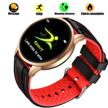 LIGE Q8 Smart Bracelet OLED Color Screen Smartwatch Womens Fashion Fitness Tracker Heart Rate monitor