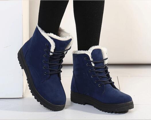 Mode De V19 Bottes Coton Grande Chaud Taille Chaussures Femmes nwvm0ON8