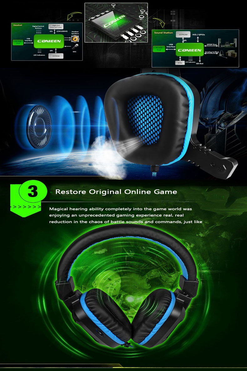Canleen Stereo Bass Gaming Headphone that are Noise Canceling Canleen Stereo Bass Gaming Headphone that are Noise Canceling HTB1rSENOFXXXXXYXFXXq6xXFXXXm