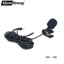Silverstrong 1Pc 50Hz 20 Khz Professionele 3.5Mm Externe Microfoon Voor Auto Dvd speler Microfoon Voor Bluetooth handsfree Bellen