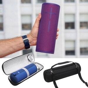 Image 5 - EVA Sert koruyucu kapak çanta Kollu Seyahat Taşıma Çantası ltimate Kulaklar UE MEGABOOM 3 Taşınabilir Bluetooth kablosuz hoparlör