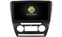 OTOJETA DSP stereo carplay android 8.1.2 car radio for skoda Octavia 2010 SUPERB Gps Ips screen video player DVD tape recorder
