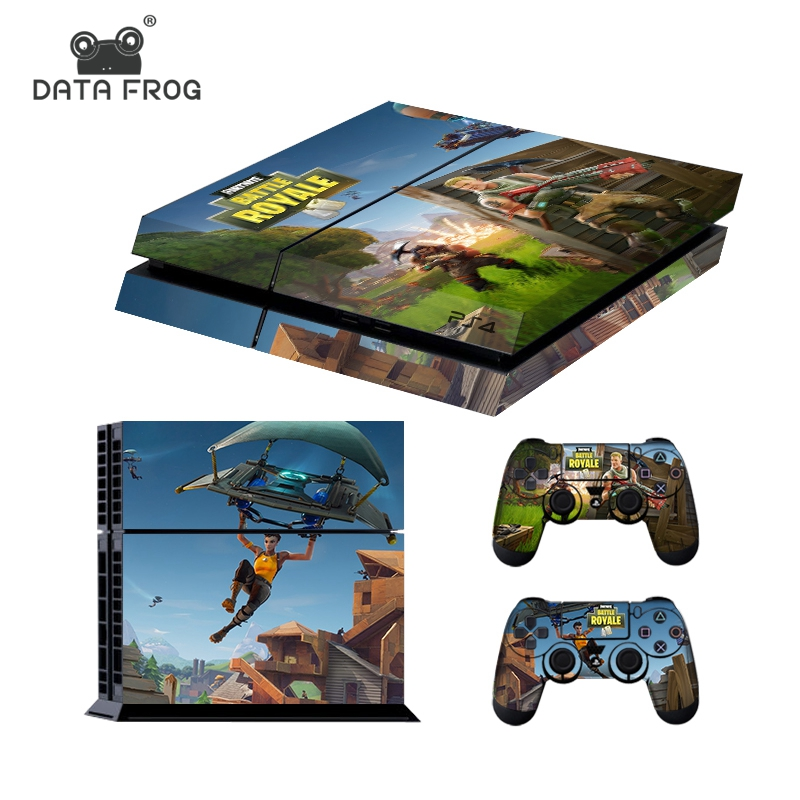 Fortnite Skin Sticker For Playstation 4/Pro/Slim Console with 2 Controller Skin New Stylish Fashional hot game Design With Gifts
