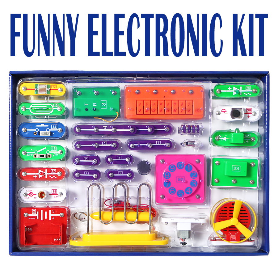 Detail Feedback Questions About Diy Electronics Discovery Kit 789 Electrical And Projects Circuits Electric Blocks Science For Children Educational Learning Toy Smart