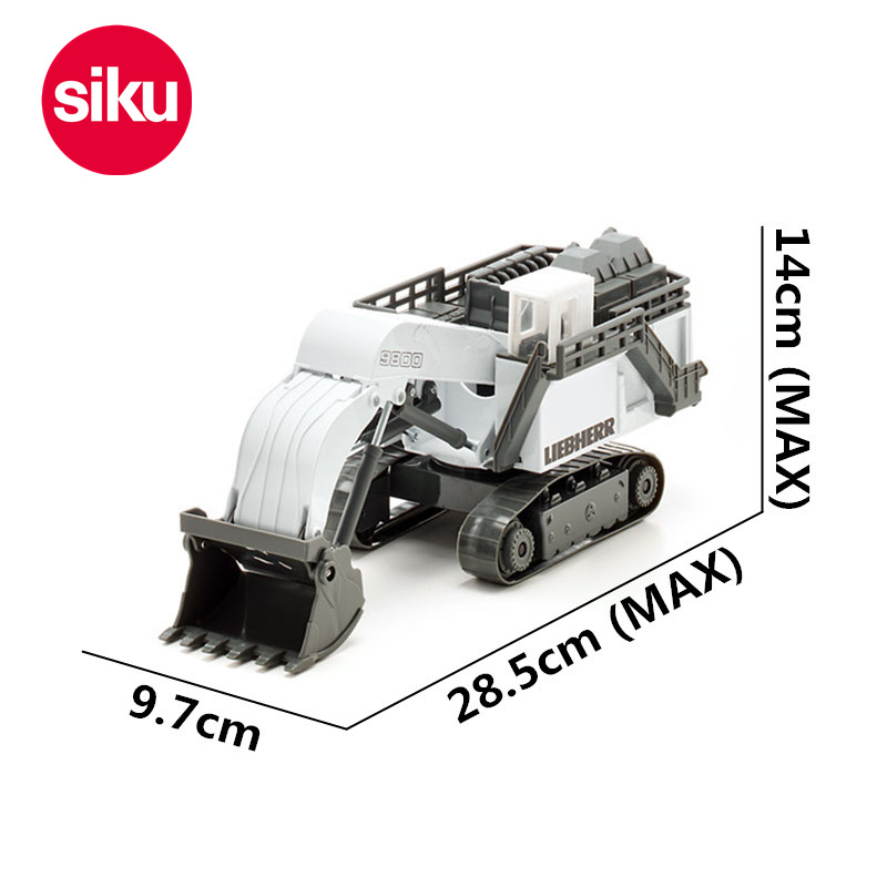 Véhicules d'ingénierie Liebherr moulés sous pression 1: 87 Siku 1798 modèles de voiture jouets pour enfants pelle Bulldozer gld2-in Jouets véhicules from Jeux et loisirs    1