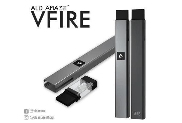 ALD Amaze VFIRE portable smoking vaporizer pen electronic cigarette best starter kit ceramic atomizer vape e