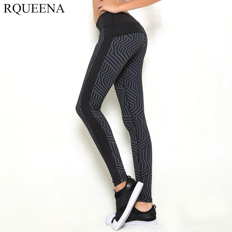 Women's Sports Leggings Black Print Running Women Fitness Legging Slim Jeggings 2015 New Wholesale