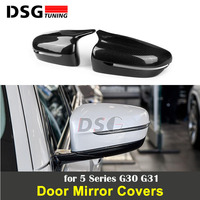 Carbon Fiber Replacement Rear View Side Mirror For BMW 5 Series G30 G31 Left Hand Driver Only Mirror Cover