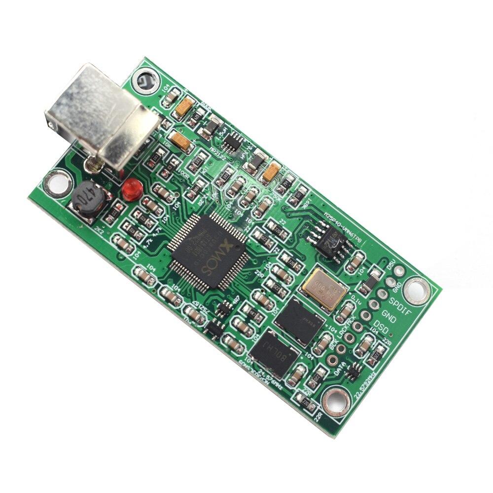 Lusya mise à niveau SITIME crystal XMOS XU208 USB 384 K 32B module I2S SPDIF sortie prise en charge DSD pour ES9018 9028 9038PRO DAC A6-012 - 4