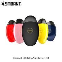 Smoant S8 Pod стартовый комплект новейший картридж Pod Vape комплект все-в-одном система 2 мл емкость Catridge с 370 мАч внутренним аккумулятором