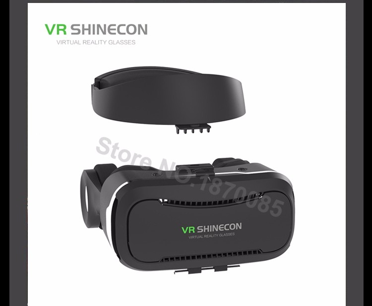 Newest VR Shinecon 4.0 Google cardboard VR BOX with Headphone VR Virtual Reality 3D Glasses PK Z4 For 4.5-6.0 inch Smartphone (13)