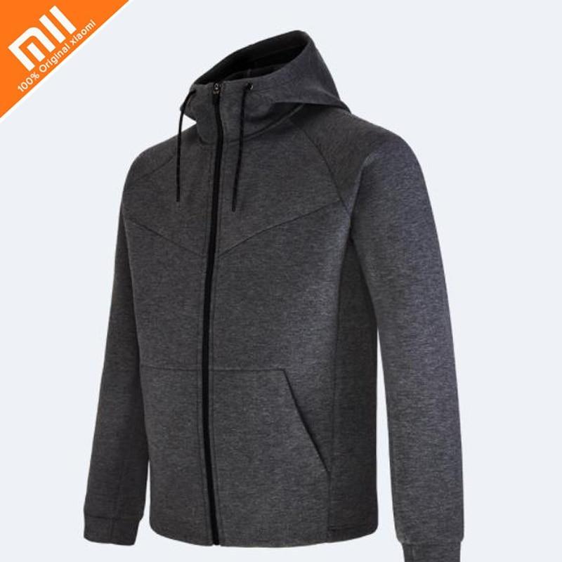 Original xiaomi mijia qihao Men's space cotton sweater three-dimensional fluffy lightweight warm sweater men's jacket geometric crew neck space dyed sweater