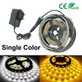 DC12V 300LEDs/5m Not Waterproof Single Color White/warm white LED Strip 2835SMD Flexible Light Neon Lamp Tiras LED Light Garland