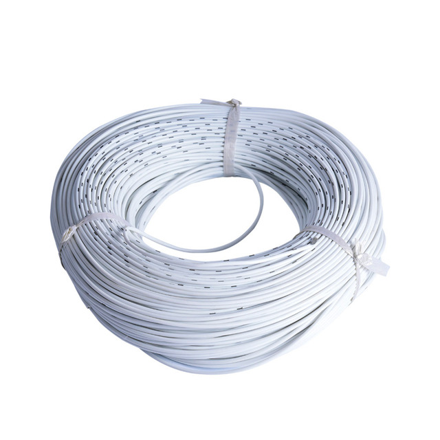 100m White 150/0.08TS 3mm Soft Silicone Extension Wire Electrical ...